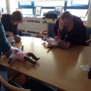 Shoreham Port staff given paediatric first aid training