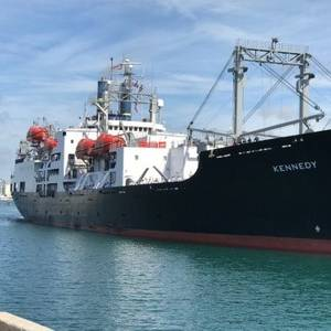 Port Canaveral Welcomes Mass Maritime Training Ship