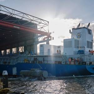 IHC Launches Dredger for NMDC