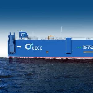 Third Hybrid LNG PCTC for UECC