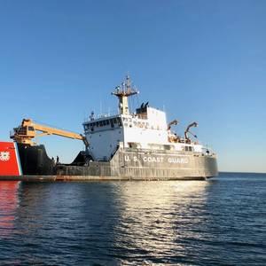 Coast Guard Corrals Wayward Buoy in Long Island Sound