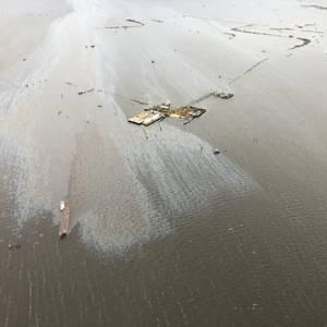 Crude Oil Spill Near Port Sulphur, La.