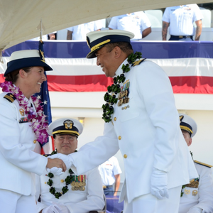 USCG Commissions FRC in Honolulu