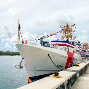PHOTO: U.S. Coast Guard Commissions Three New Cutters in Guam
