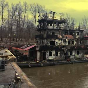 Mississippi Towing Vessel Fire Extinguished