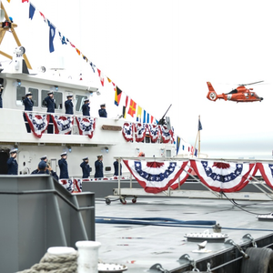 CG Cutter Robert Ward Commissioned