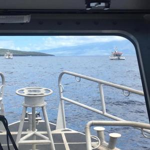 Passenger Vessel Grounds off Hawaii