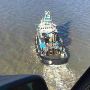 Tug Crewman Medevaced Off Louisiana