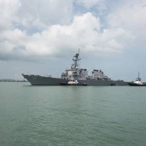 No Sign Ship Collision Was Intentional -US Navy Chief