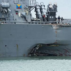 Second Body Recovered from USS McCain