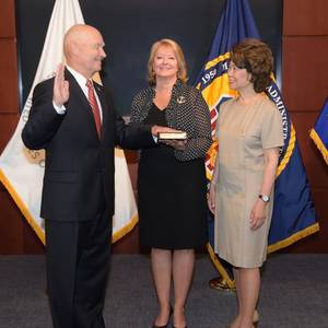 Buzby Sworn in as Maritime Administrator