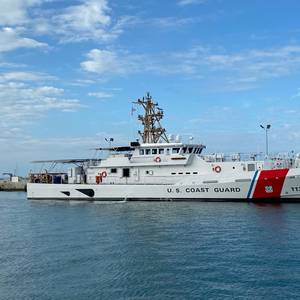 USCGC Edgar Culbertson Delivered