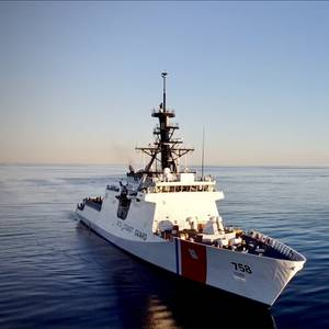 US Coast Guard Commissions National Security Cutter Stone