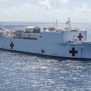 California Asks Trump to Deploy USNS Mecy to LA 'Immediately'