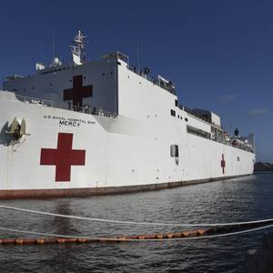 Vigor Wins Contract to Overhaul Hospital Ship Mercy