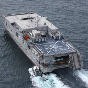 U.S. Navy's New Fast Transport Ship Passes Acceptance Trials