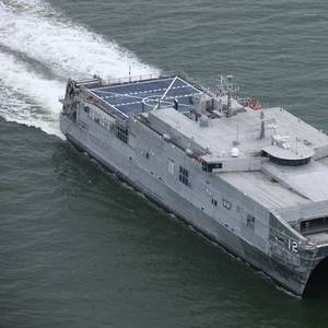 Austal USA Delivers USNS Newport (EPF 12)