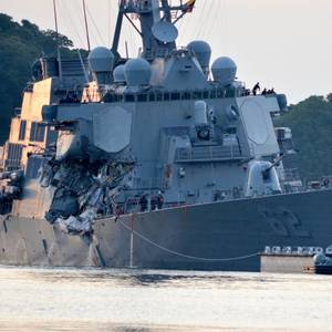 US Warship Collisions Were Avoidable: Navy Investigations