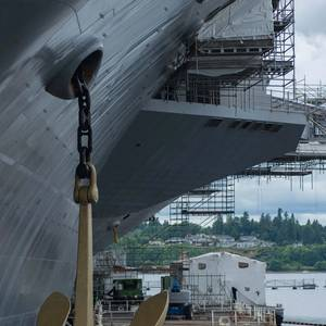 John C. Stennis Underway for Sea Trials Ahead of Schedule
