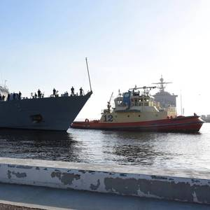 USS Little Rock Arrives in Mayport