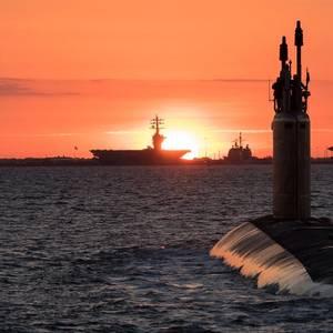 Future USS Washington Delivered