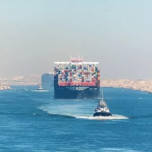 Suez Canal Posts Record $5.84 Billion Annual Revenue