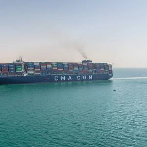 CMA CGM to Halt Spot Freight Rate Rises until February