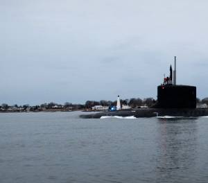 Submarine Vermont Delivered to the US Navy