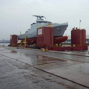 IN THE YARD: Designing Ship Build and Transport Cradles