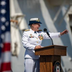 U.S. Coast Guard Welcomes New Vice Commandant