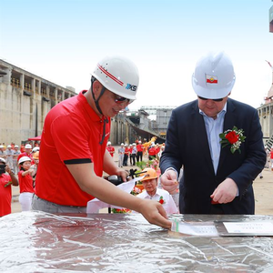 Viking Glory Celebrates Keel Laying