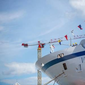 Fincantieri Floats Out Cruise Ship Viking Venus