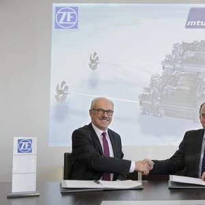 Rolls-Royce, ZF Strengthen Propulsion Ties