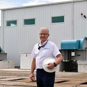 New CEO Takes the Helm at RMK Merrill-Stevens Shipyard