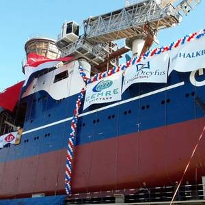 LDA's First Wind Farm Maintenance Vessel Launched