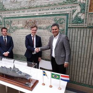 WEG, Praxis Sign MoU to Support Damen Saab Bid for Brazilian Navy