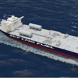 Shell Charters LNG-Powered Tanker Fleet