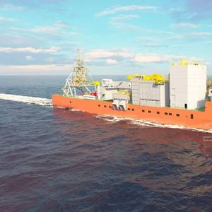 ABB Power System for World's Largest Diamond Recovery Vessel