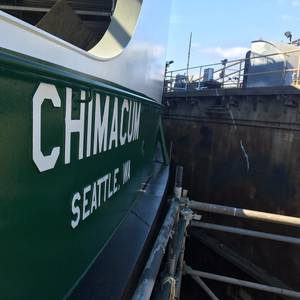WSDOT Christens New Ferry Chimacum