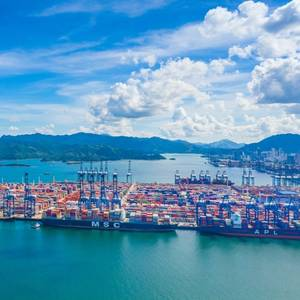 Congestion at Container Shipping Ports in Southern China Worsens on Anti-COVID-19 Measures