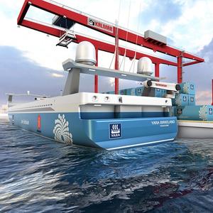 Autonomous Ships: MacGregor Mooring for Yara Birkeland