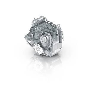 ZF Unveils 5200 A/V PTI Hybrid Transmission