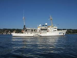 NOAA Ship Rainier Returns to Alaska for Sea Floor Surveys