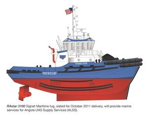 New EPA Tier 3 Compliant Engines to be Installed on Signet Maritime's ASD Tugs for LNG