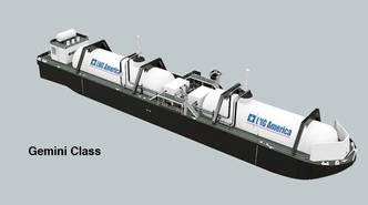 LNG America Selects Topside Designer for LNG Bunker Barge