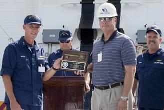 Ingalls Delivers NSC Hamilton to USCG