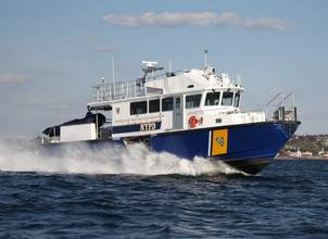 Gladding-Hearn Delivers Third NYPD Boat