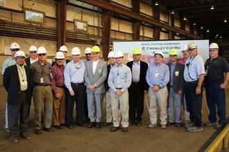 VT Halter Begins Building LNG-powered ConRo Ships for Crowley