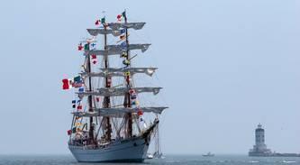 Historic Mexican Ship Visits Port of LA