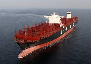 World's First LNG-Ready Ultra Large Container Ship Named